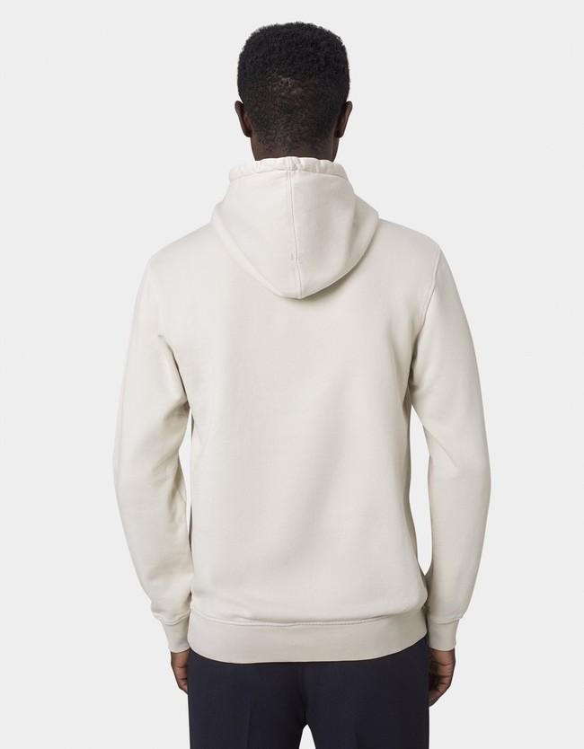 Hoodie écru en coton bio - ivory white - Colorful Standard num 7