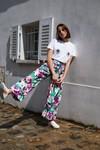 Pantalon kool aquarelle pop - Les Récupérables - 1