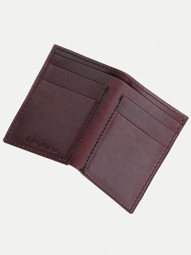 Portefeuille figue en cuir - hagdahl - Nudie Jeans num 1