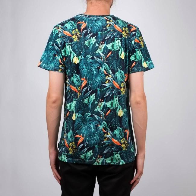 T-shirt motif jungle en coton bio - Dedicated num 4