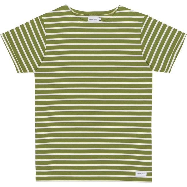 T-shirt olive zarautz - Bask in the Sun