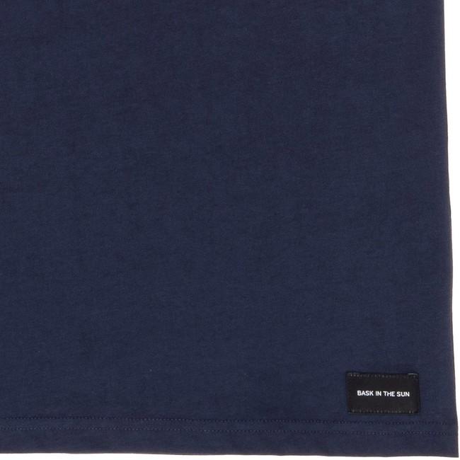 T-shirt en coton bio navy teofilo - Bask in the Sun num 3