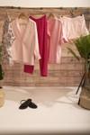 Pantalon provence rose à pois - Bagarreuse - 1