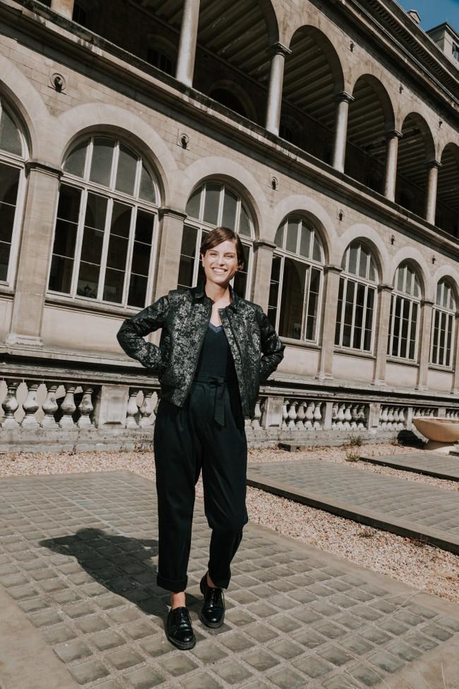 Bombers femme silver - skhool - Les Récupérables