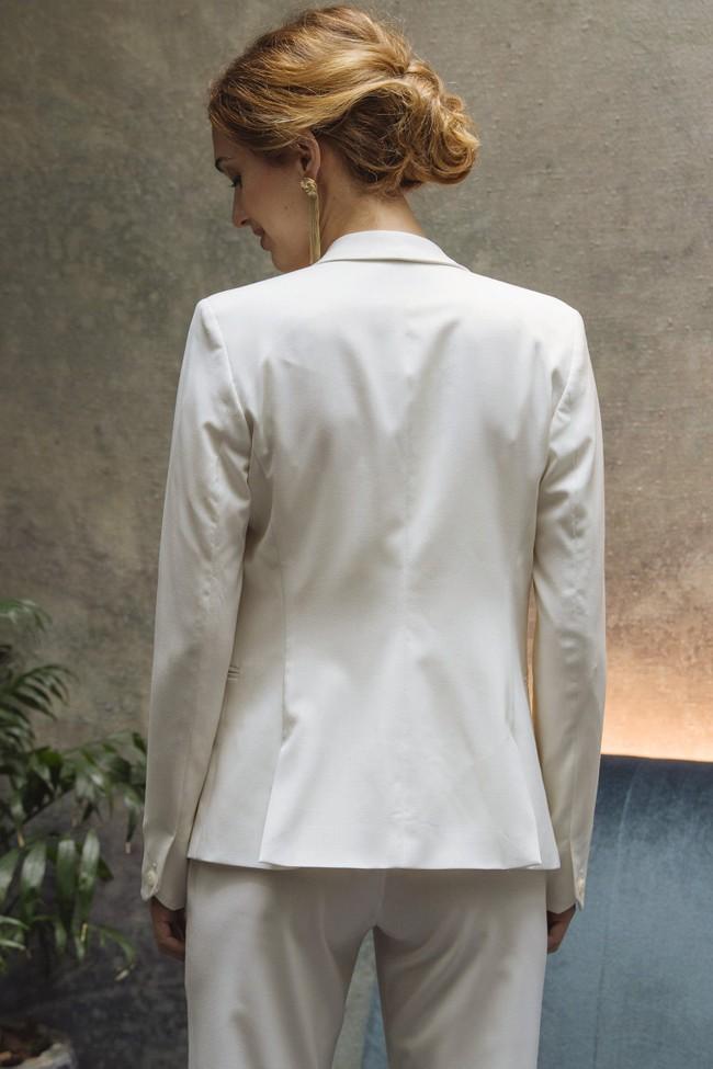 Veste tailleur paris ivoire - 17h10 num 4