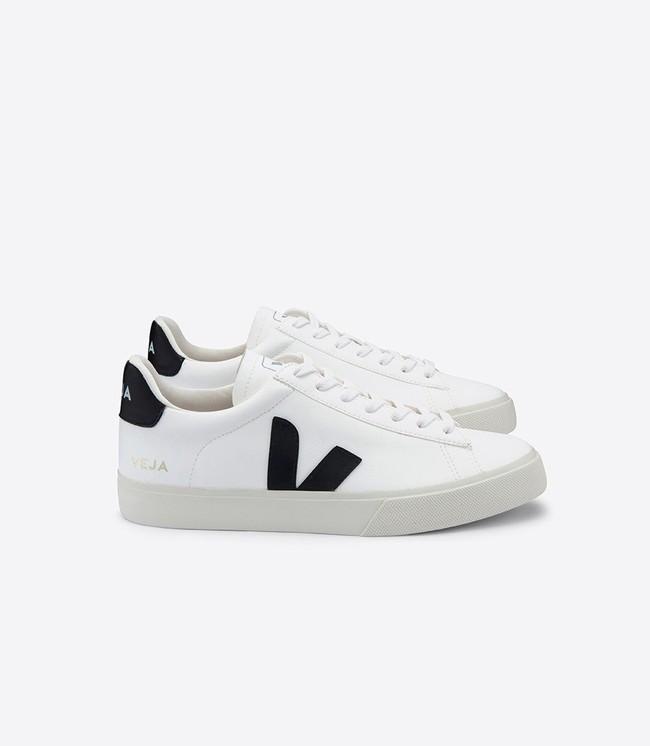 Baskets campo white black - Veja