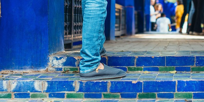 Chaussures recyclées sequoia charcoal - Saola num 1