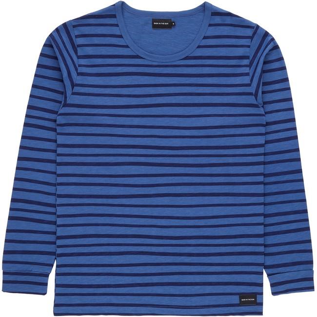 T-shirt en coton bio blue esperanza ls - Bask in the Sun