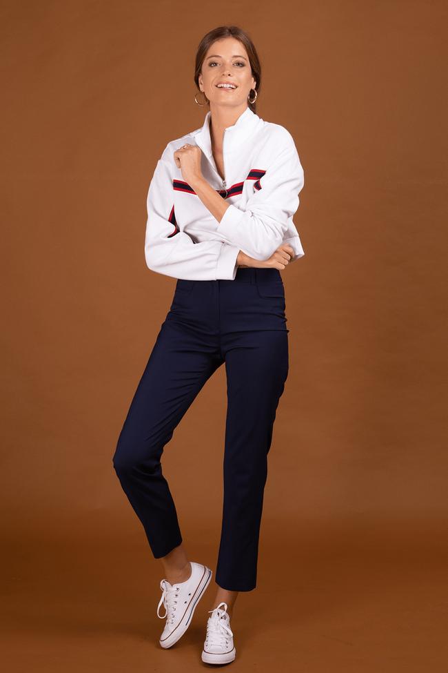 Pantalon tailleur new york navy - 17h10