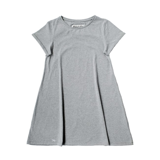 Teahupoo dress - grey - Shak & Kai num 3