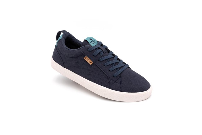 Chaussures recyclées cannon femme blue night - Saola