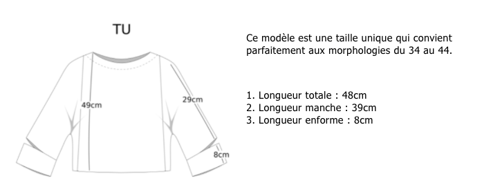 Guide de taille Les Récupérables
