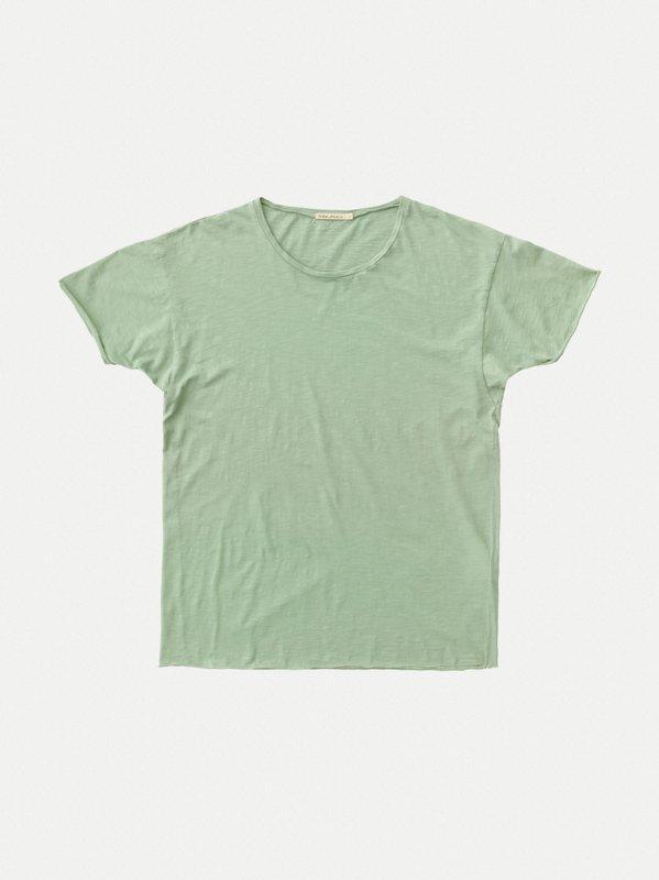 T-shirt vert en coton bio - roger - Nudie Jeans num 6