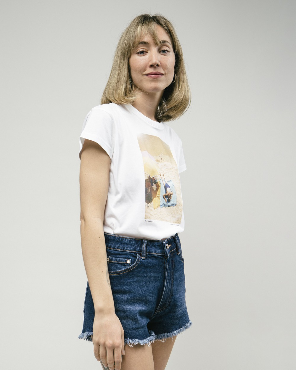 Grandma t-shirt - Brava Fabrics