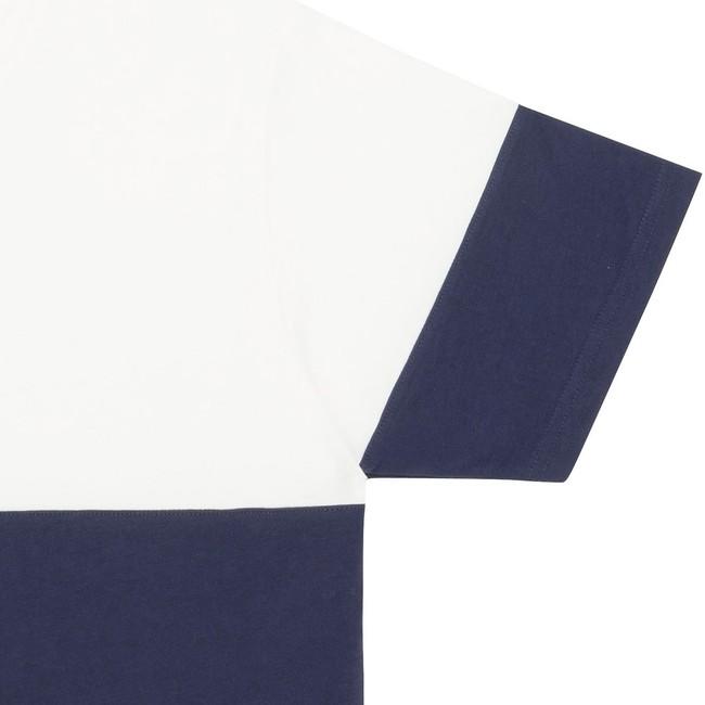T-shirt en coton bio navy teofilo - Bask in the Sun num 2