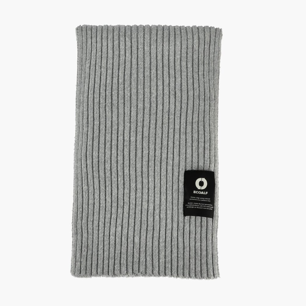 Echarpe grise - thick scarf - Ecoalf