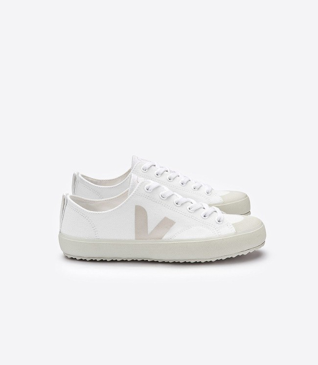 Baskets nova canvas white pierre - Veja