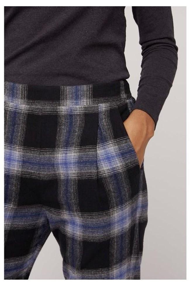 Pantalon carreaux en coton bio - reiko - People Tree num 6
