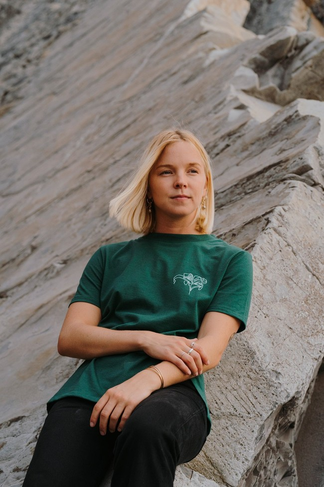 T-shirt recyclé - pure forest - Hopaal num 1