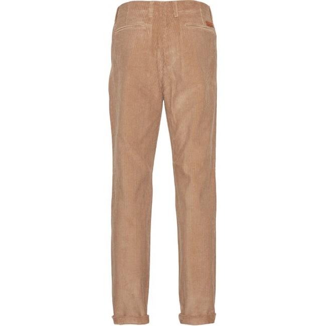 Chino velours marron en coton bio - Knowledge Cotton Apparel num 1
