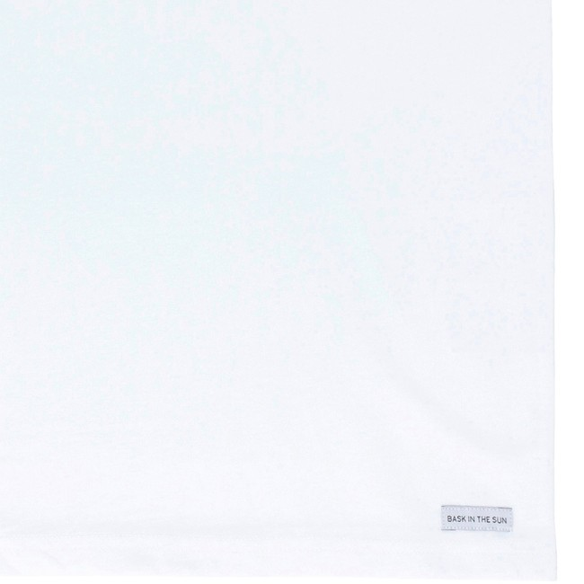 T-shirt en coton bio white pleasure - Bask in the Sun num 3