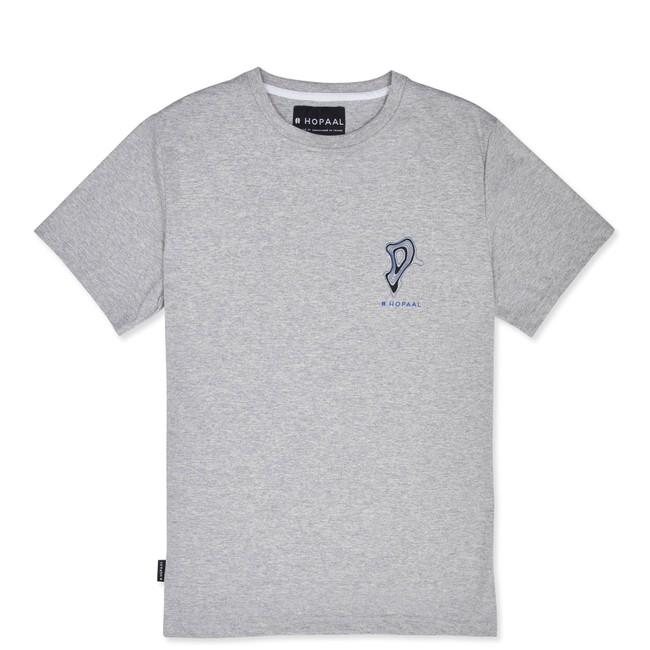 T-shirt recyclé - topo flint - Hopaal