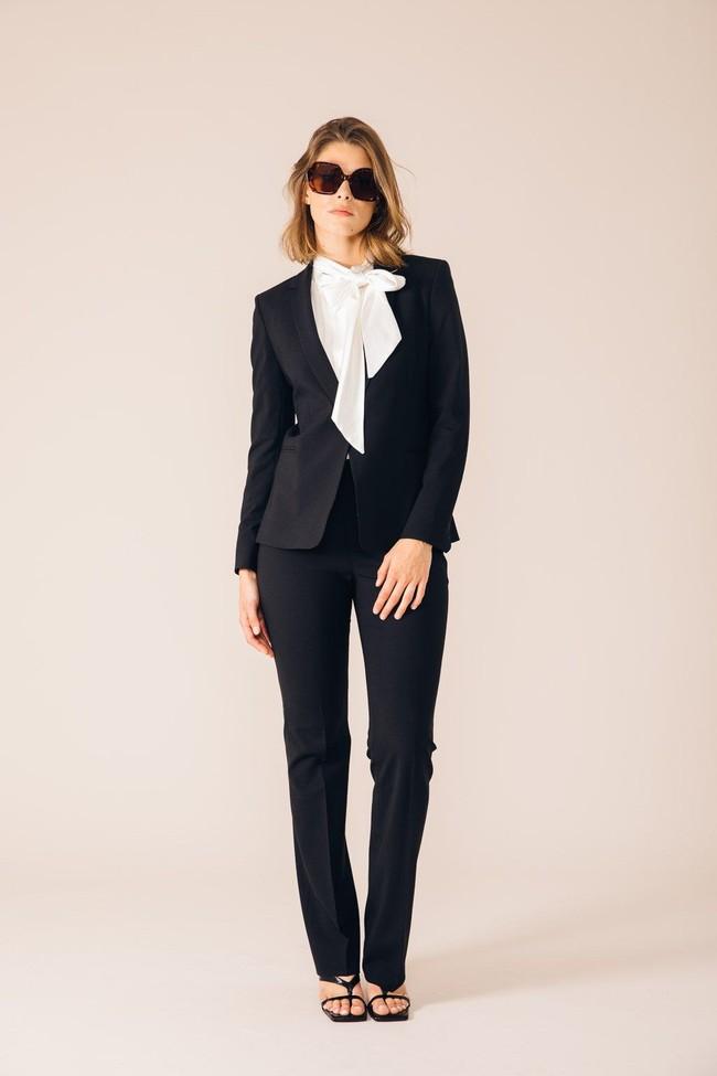 Pantalon tailleur oslo noir - 17h10 num 3