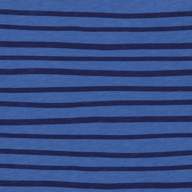 T-shirt en coton bio blue esperanza ls - Bask in the Sun num 2