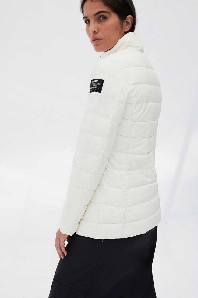Doudoune blanche en polyester recyclé - new kily - Ecoalf num 2