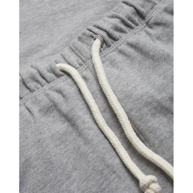 Short jogging gris en coton bio - Knowledge Cotton Apparel num 2