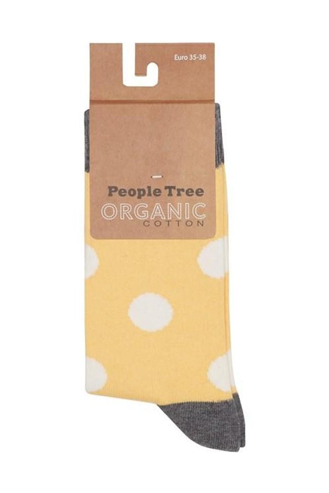 Pack 3 paires de chaussettes en coton bio - bee - People Tree num 1