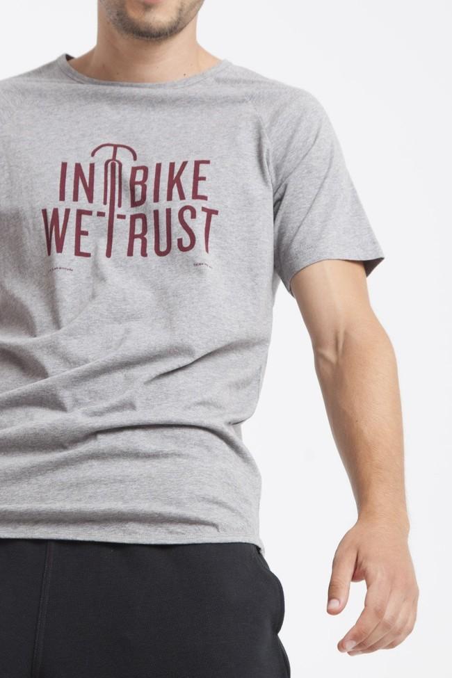 T-shirt en coton bio in bike we trust - Thinking Mu num 3