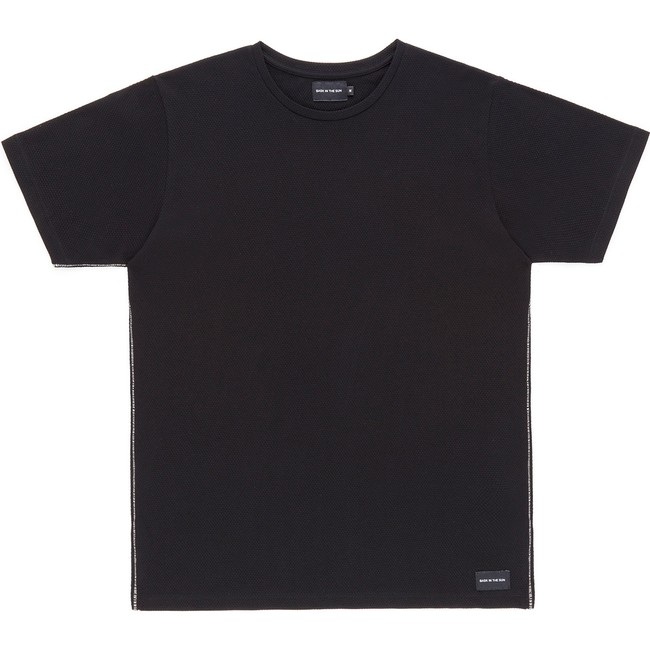 T-shirt en coton bio black gamiz - Bask in the Sun