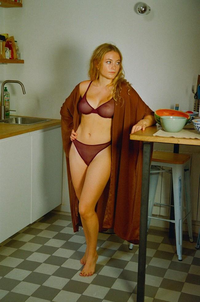 Carmen kimono mocha - Nénés Paris