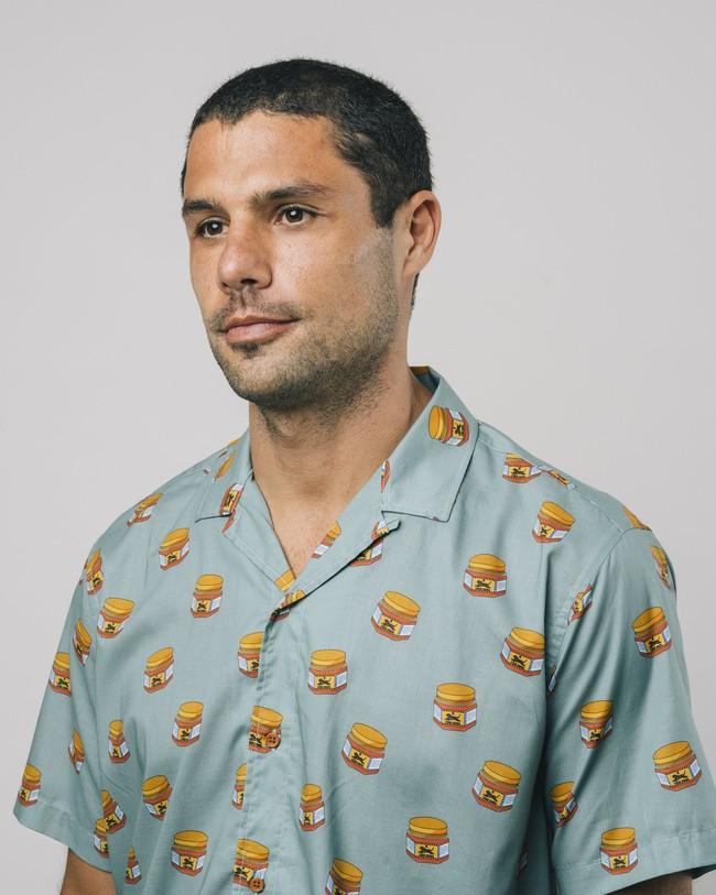 Tiger brava aloha shirt - Brava Fabrics num 4