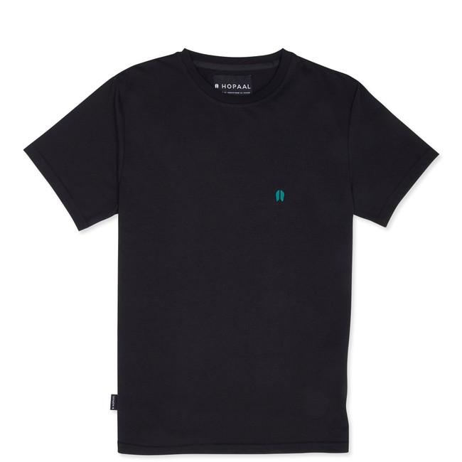 T-shirt recyclé - classique black - Hopaal