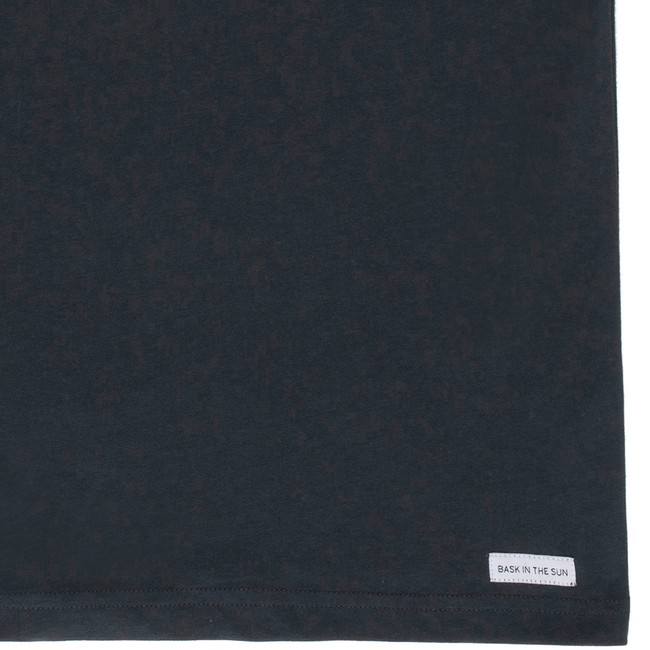 T-shirt en coton bio black to the sea - Bask in the Sun num 3