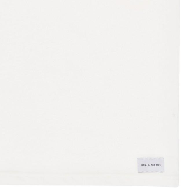 T-shirt en coton bio white aquashot - Bask in the Sun num 3