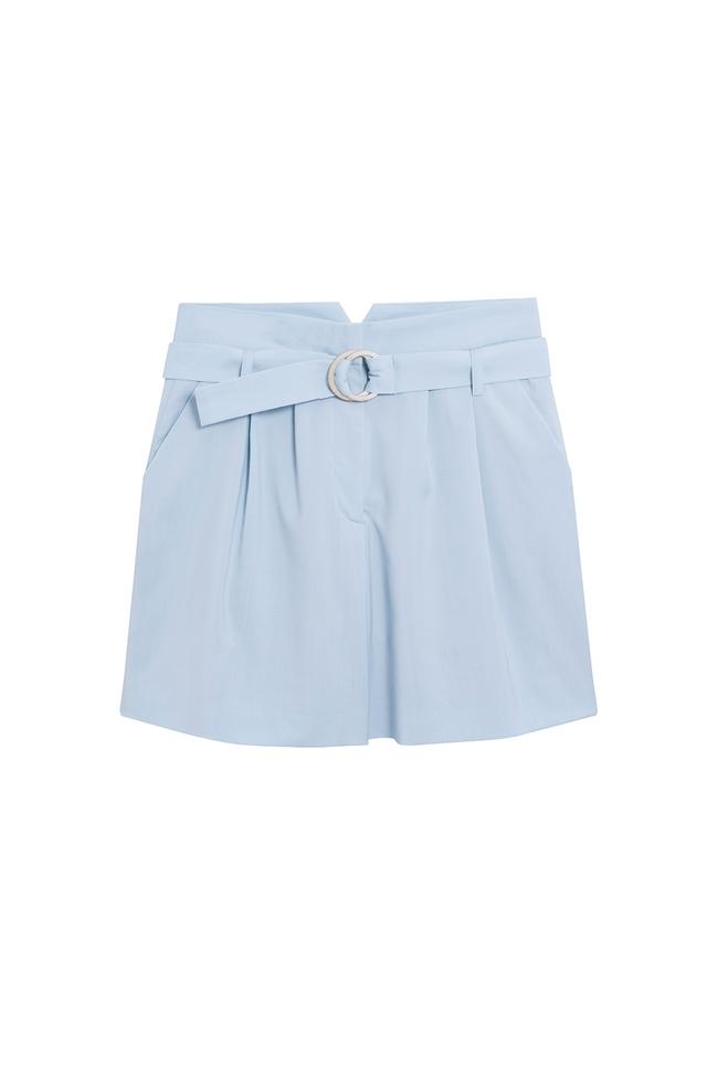Short tailleur rome bleu pastel - 17h10