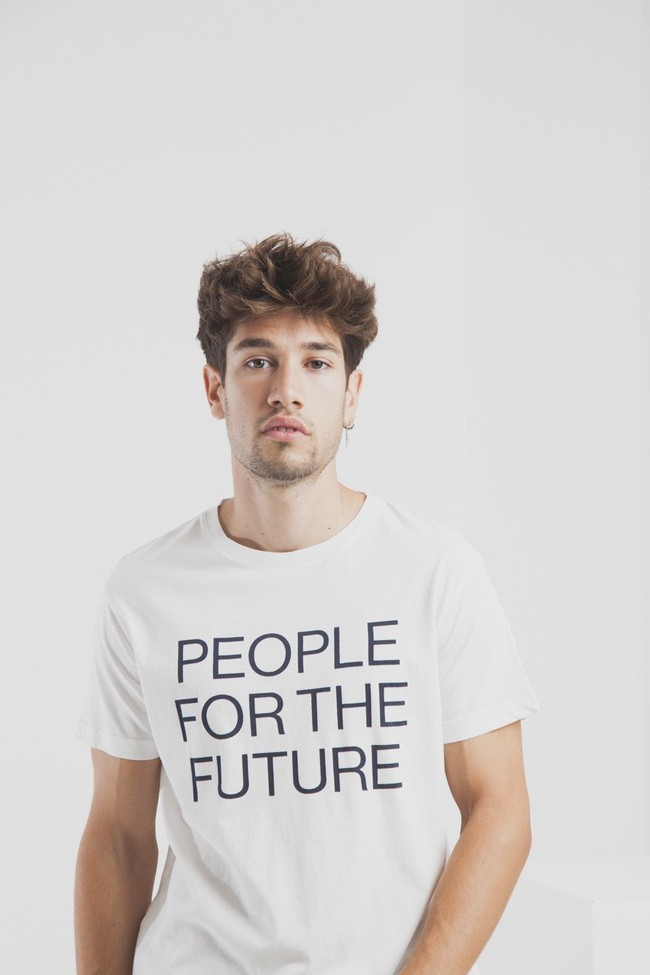 T-shirt en coton bio people for the future - Thinking Mu num 3