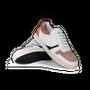 Chaussure en glencoe cuir blanc / suède flamingo - O.T.A - 3