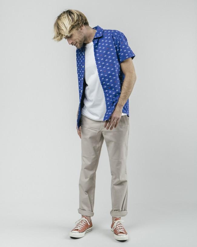 Printed shirt paper boat - Brava Fabrics num 4
