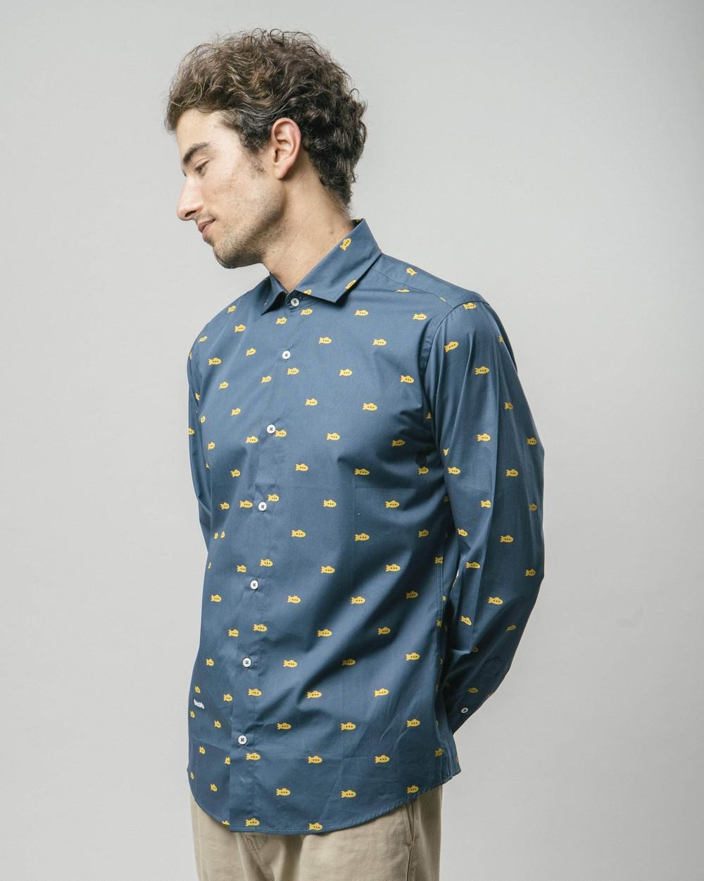 Yellow submarine printed shirt - Brava Fabrics