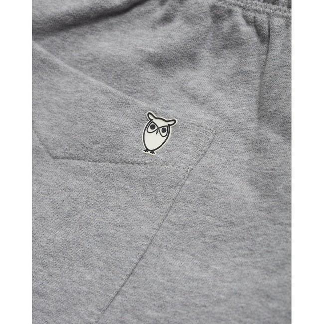 Short jogging gris en coton bio - Knowledge Cotton Apparel num 3