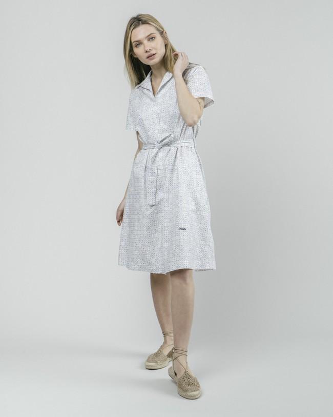Portuguese tiles shirt dress - Brava Fabrics num 3