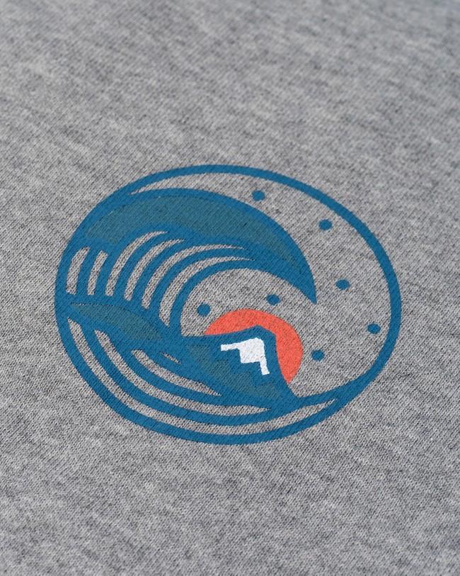 Sweatshirt japanese wave - Brava Fabrics num 2