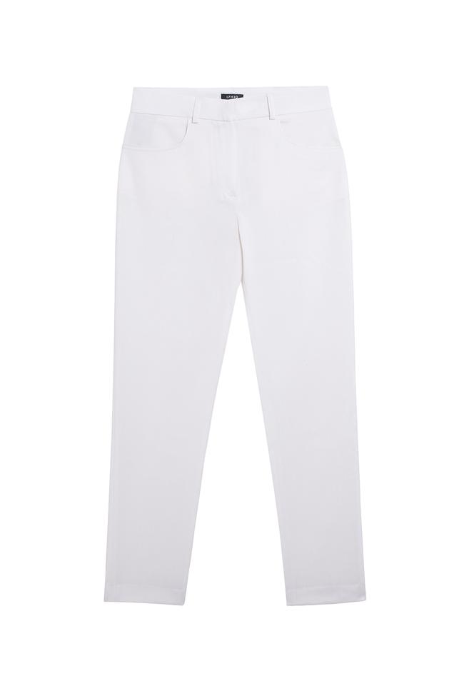 Pantalon tailleur new-york ivoire - 17h10 num 3