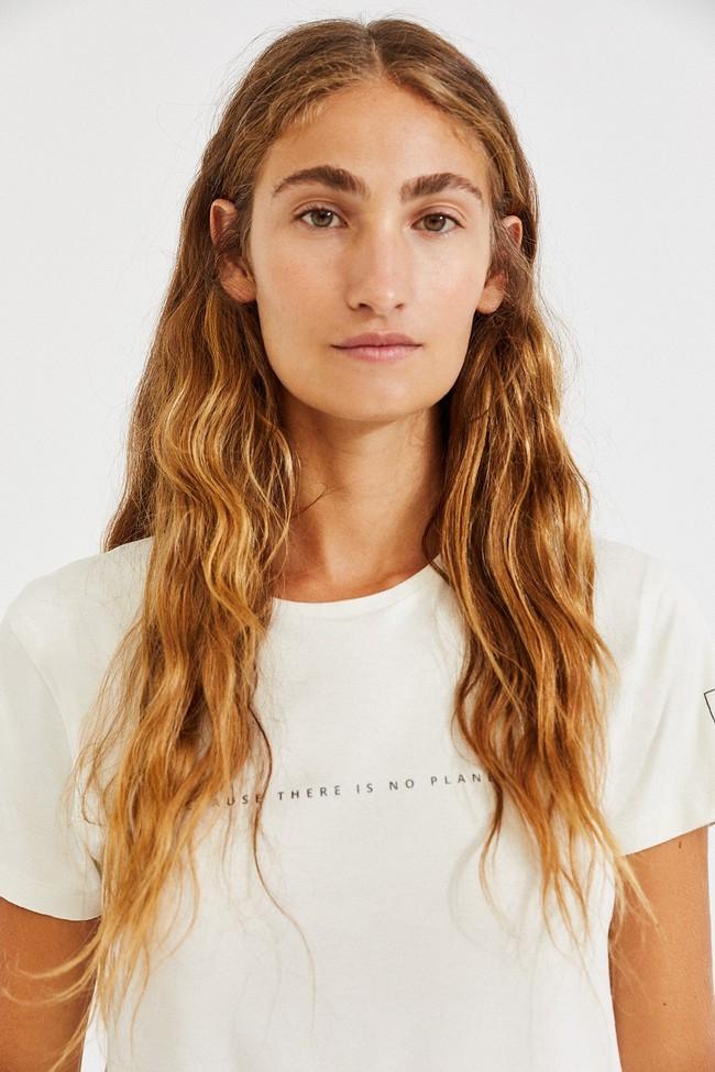 T-shirt écru en lenzing - going - Ecoalf num 1