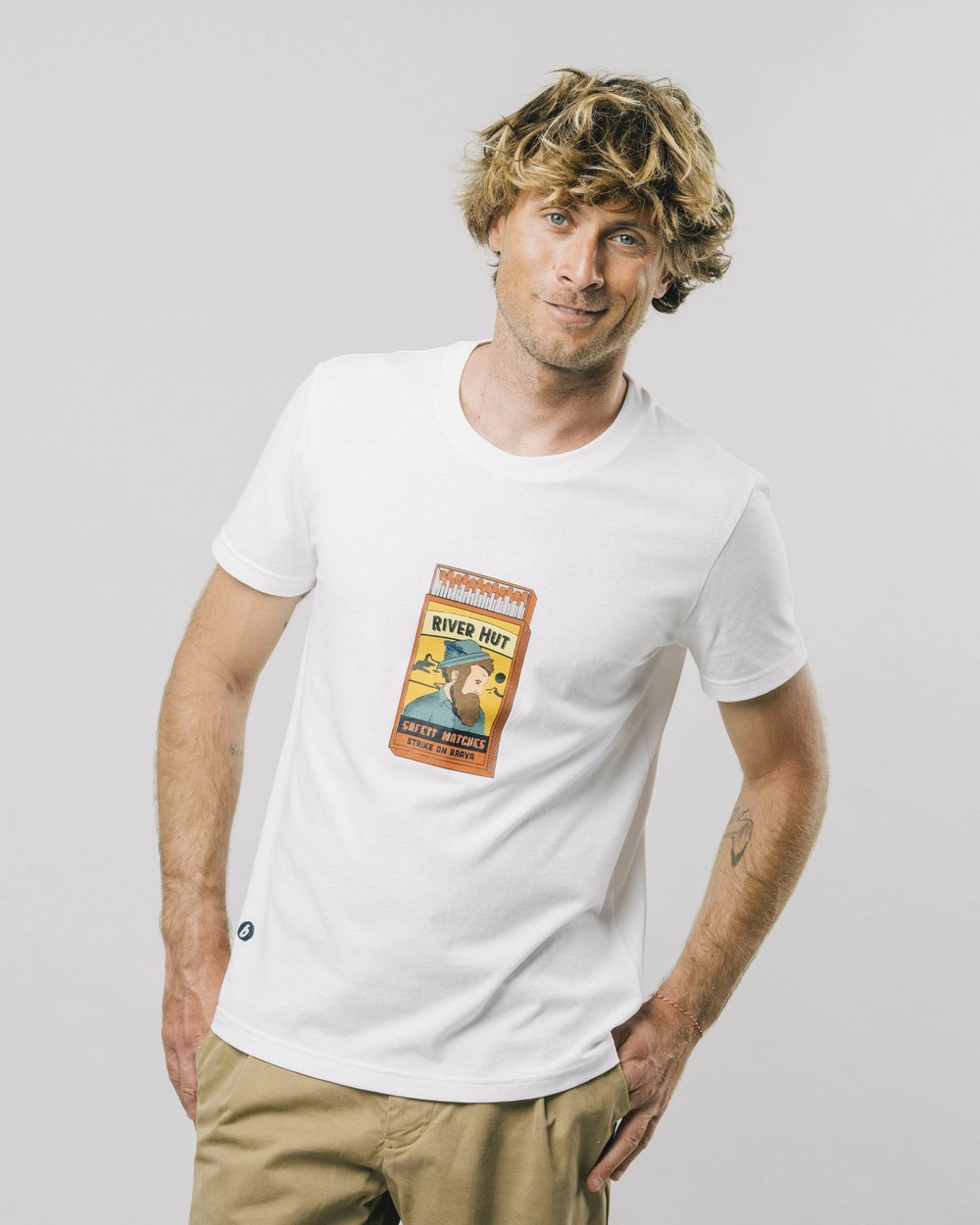 Safety matches t-shirt - Brava Fabrics