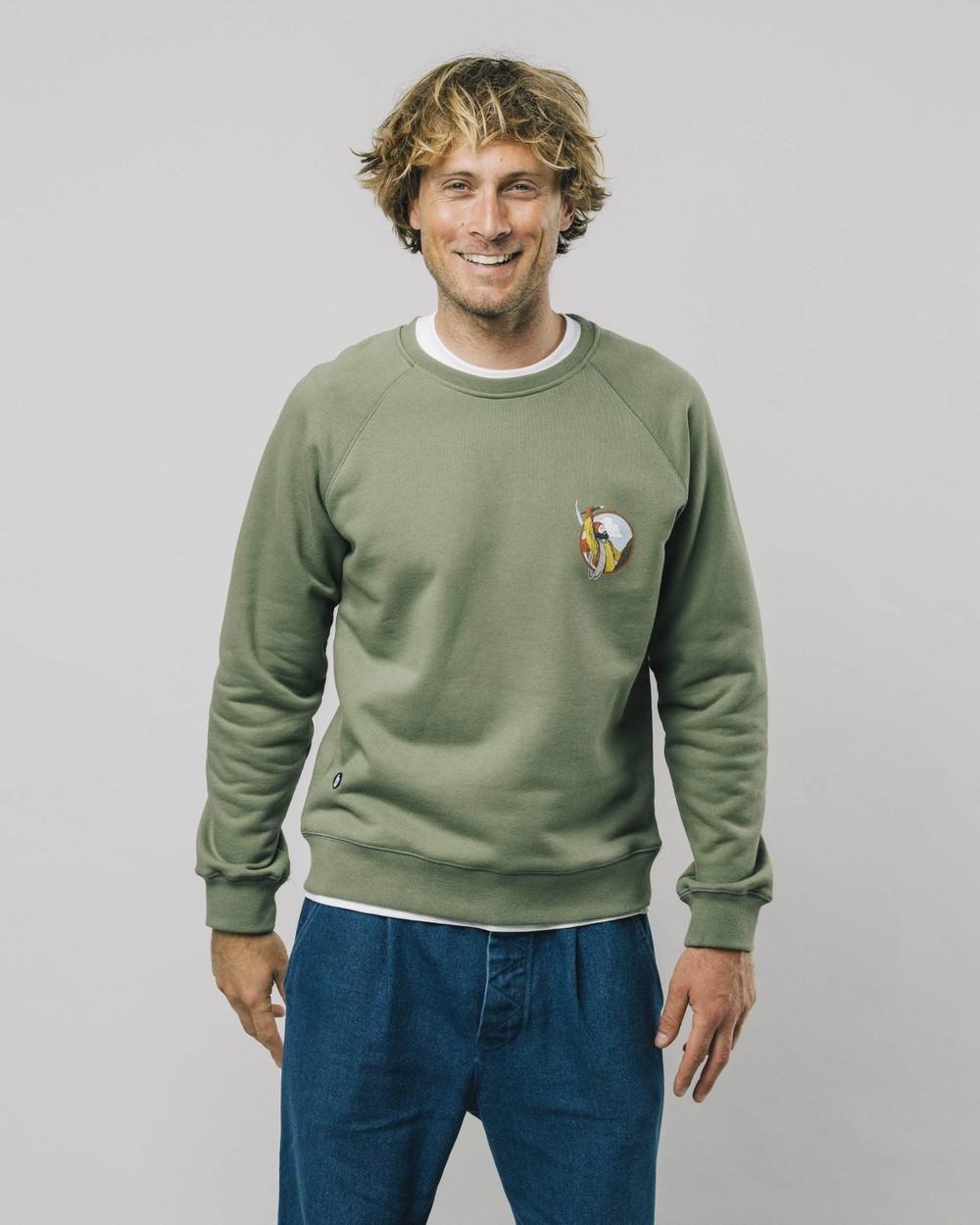 The hiker sweatshirt - Brava Fabrics